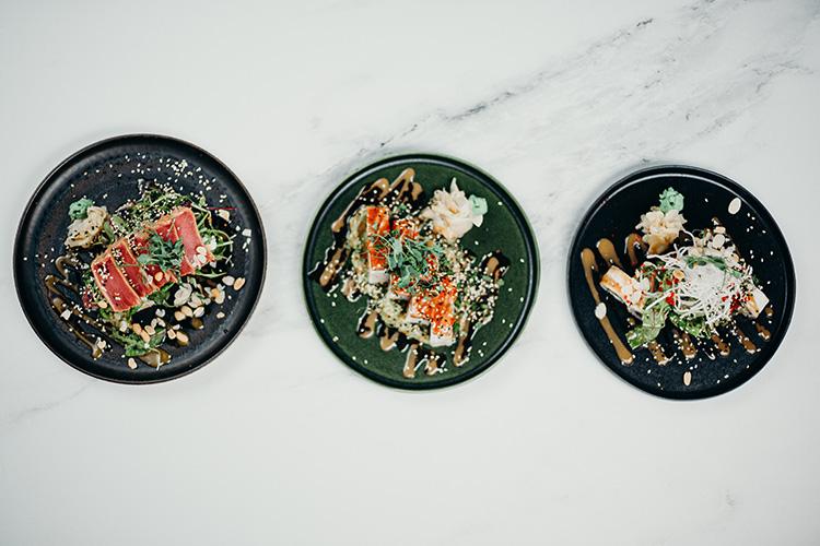 Three Breakfast One Plate Recipe With Sea Fish